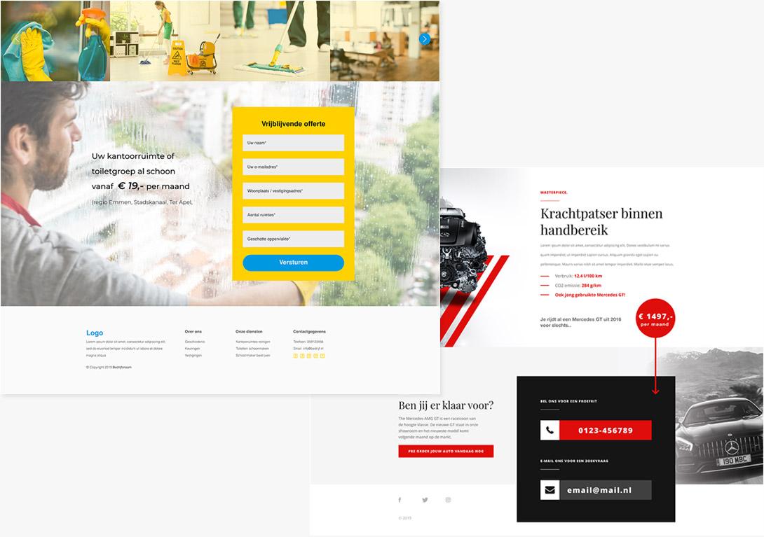 Prototype voorbeelden portfolio